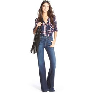 7 For All Mankind Ginger High Rise Flare Jeans